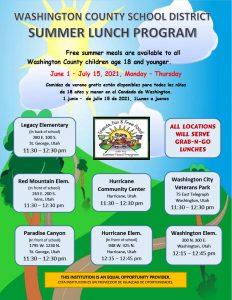 Summer Lunch Flyer 2021